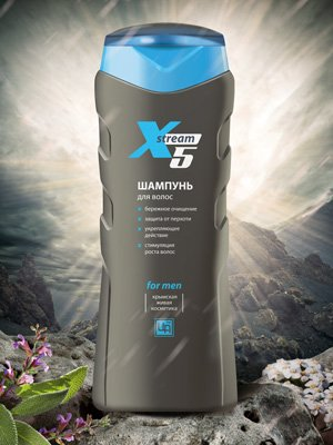 Шампунь для волос «Xstream»